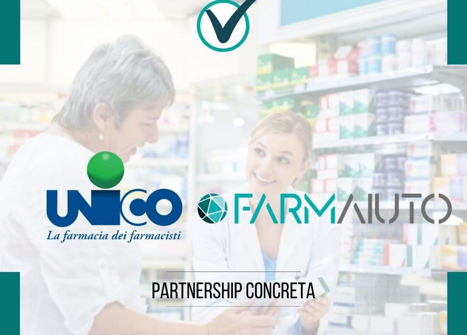 Farmaiuto e UNICO La farmacia dei farmacisti: una partnership concreta